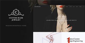 Jewelry珠宝饰品外贸营销网站方案解决